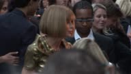 Anna Wintour arrives at the Burberry Prorsum S/S 2010 show in London England