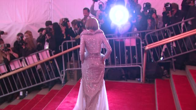 Anna Wintour at the 'Superheroes Fashion and Fantasy' Costume Institute Gala at The Metropolitan Museum of Art at the Metropolitan Museum of Art in...