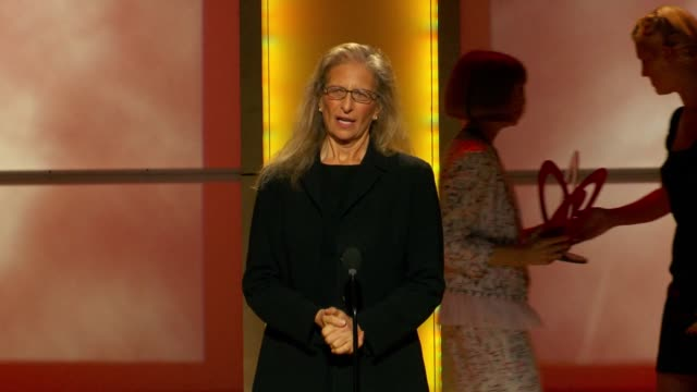 Anna Wintour presents Annie Liebovitz with award at Glamour Magazine's 22nd Annual Women Of The Year Awards at Carnegie Hall on November 12 2012 in...
