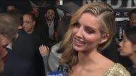 WPIX Annabelle Wallis talks about Watching Herself on Screen at the premiere of the movie The Mummy on June 6 2017 at AMC Loews Lincoln Square in New...