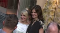Annaleigh Ashford and Betsy Brandt at the 'Masters of Sex' Exclusive Screening and Panel Discussion Arrivals at Cary Grant Theater on May 05 2015 in...