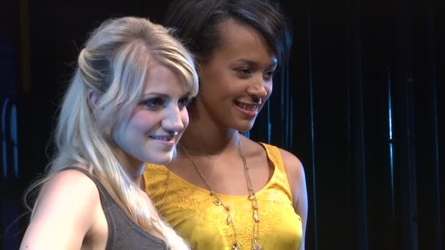 Annaleigh Ashford and Corbin Reid at the 'Rent' OffBroadway Cast Photocall at New York NY