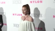 Annalise Basso at the NYLON's Annual Young Hollywood May Issue Event With Cover Star Rowan Blanchard on May 02 2017 in Los Angeles California