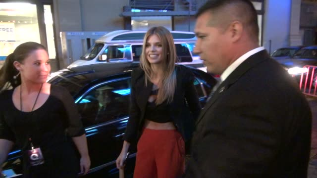 AnnaLynne McCord and Dominic Purcell at the QVC Fashion Show at New York Fashion Week 9/10/2011