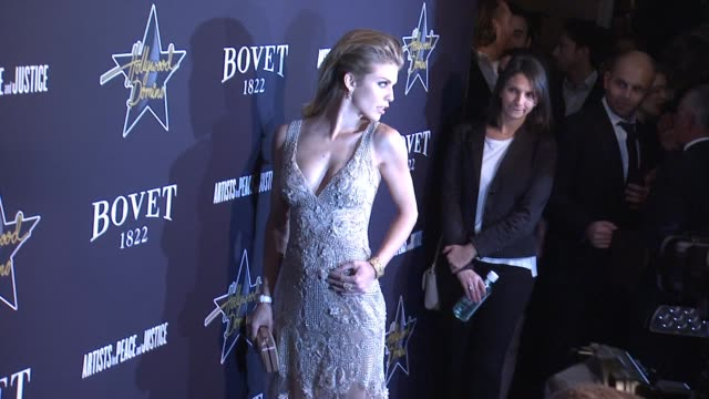 AnnaLynne McCord at the Hollywood Domino Annual PreOscar Soiree Presented By Bovet 1822 at the Sunset Tower Hotel on February 19 2015 in West...