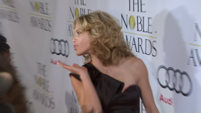 Annalynne McCord at the Noble Awards at Beverly Hills CA