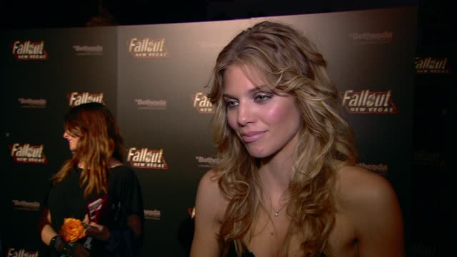 AnnaLynne McCord on the event at the 'Fallout New Vegas' Launch Party at Las Vegas NV