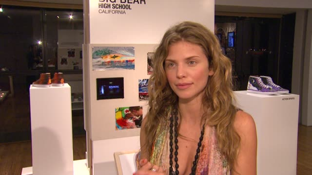 AnnaLynne McCord on what made her passionate about the Vans Custom Culture competition what is most exciting about being a judge what she is looking...