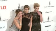 AnnaLynne McCord Rachel McCord and Angel McCord at the 2015 Weinstein Company And Netflix Golden Globe After Party at Robinsons May Lot on January 11...