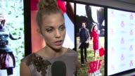 AnnaLynne McCord talking about her 90210's character's storyline relating to one of her causes at the Self Magazine Women Doing Good Awards at New...