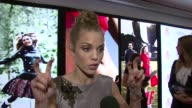 AnnaLynne McCord talking about volunteering in Haiti and her fellow actress volunteers at the Self Magazine Women Doing Good Awards at New York NY