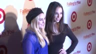AnnaSophia Robb and Chloe Bridges at Target 'Falling For You' Event at Terminal 5 on October 10 2012 in New York New York