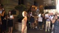 AnnaSophia Robb at St Regis Hotel on September 16 2015 in New York City