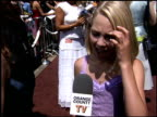 Annasophia Robb at the 'Charlie and the Chocolate Factory' Premiere at Hollywood United Methodist Church in Hollywood California on July 10 2005