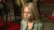 AnnaSophia Robb at the 'The Reaping' Premiere at the Mann Village Theatre in Westwood California on March 29 2007