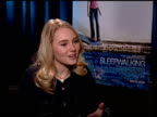 AnnaSophia Robb on being a part of the film and on her character at the 'Sleepwalking' Press Junket at NULL in Los Angeles California on March 6 2008