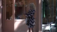AnnaSophia Robb shooting on location for 'The Carrie Diaries' at Celebrity Sightings in New York in New York NY on