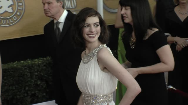 Anne Hathaway at the 15th Annual Screen Actors Guild Awards Part 7 at Los Angeles CA