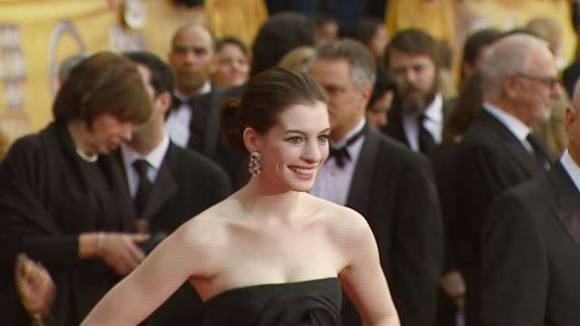 Anne Hathaway at the 2007 Screen Actors Guild SAG Awards at the Shrine Auditorium in Los Angeles California on January 28 2007