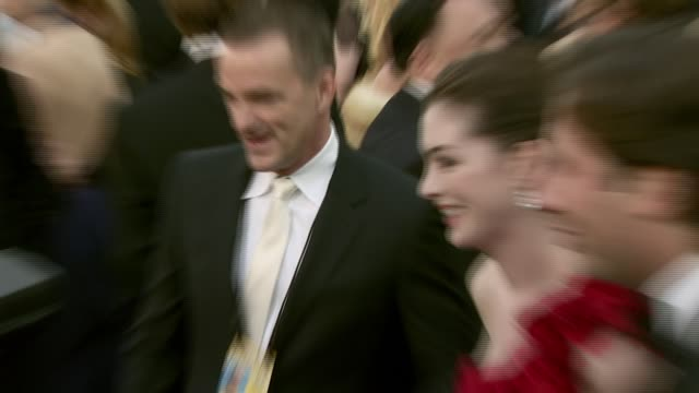 Anne Hathaway at the 2008 Academy Awards at the Kodak Theatre in Hollywood California on February 24 2008