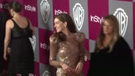 Anne Hathaway at the 2011 InStyle/Warner Brothers Golden Globe Awards Party at Beverly Hills CA