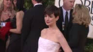 Anne Hathaway at the 70th Annual Golden Globe Awards Arrivals in Beverly Hills CA on 1/13/13