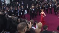 Anne Hathaway at the 83rd Annual Academy Awards Arrivals Part 2 at Hollywood CA
