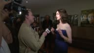 Anne Hathaway at the London Film Festival Rachel Getting Married UK Premiere at London