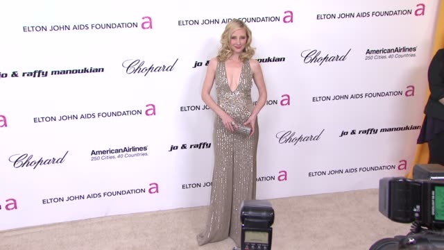 Anne Heche at the 19th Annual Elton John AIDS Foundation Academy Awards Viewing Party Part 2 at West Hollywood CA