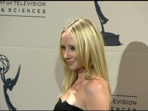 Anne Heche at the 2005 Creative Arts Emmy Awards press room at the Shrine Auditorium in Los Angeles California on September 12 2005
