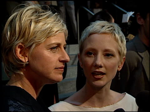 Anne Heche at the 'Six Days Seven Nights' Premiere at Academy Theater in Beverly Hills California on June 8 1998