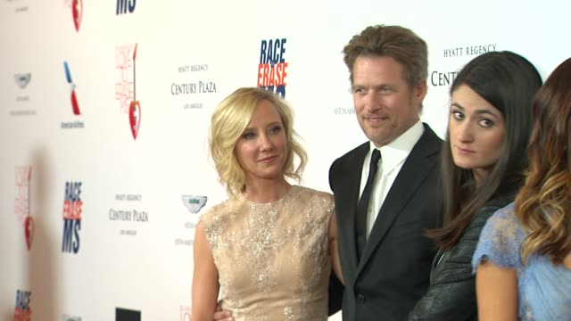 Anne Heche James Tupper at The 20th Annual Race To Erase MS Love To Erase MS on 5/3/13 in Los Angeles CA