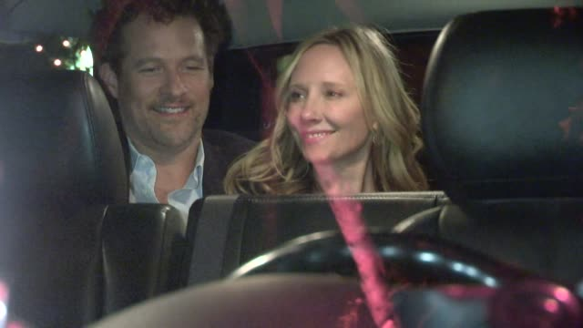 Anne Heche James Tupper departing Madeo in Westwood in Celebrity Sightings in Los Angeles