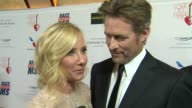 INTERVIEW Anne Heche James Tupper on the event at The 20th Annual Race To Erase MS Love To Erase MS on 5/3/13 in Los Angeles CA