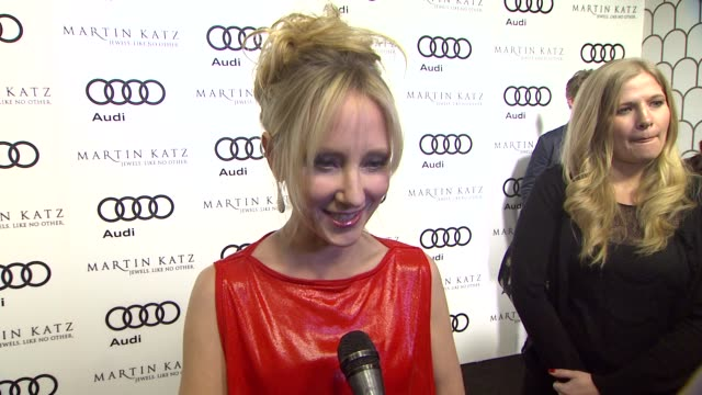 Anne Heche on the event at the Audi And Martin Katz Celebrate The 2012 Golden Globe Awards in West Hollywood CA