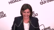 Anne Hidalgo a Spanish born Socialist will be the first female mayor of Paris after an unexpectedly comfortable win in municipal elections