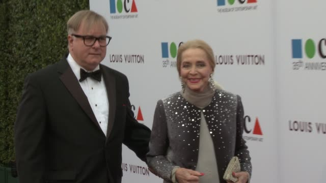 Anne Jeffreys at MOCA's 35th Anniversary Gala Presented By Louis Vuitton At The Geffen Contemporary At MOCA on March 29 2014 in Los Angeles California