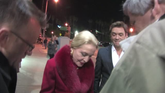 Anne Jeffreys at Pantages in Hollywood at the Celebrity Sightings in Los Angeles at Los Angeles CA