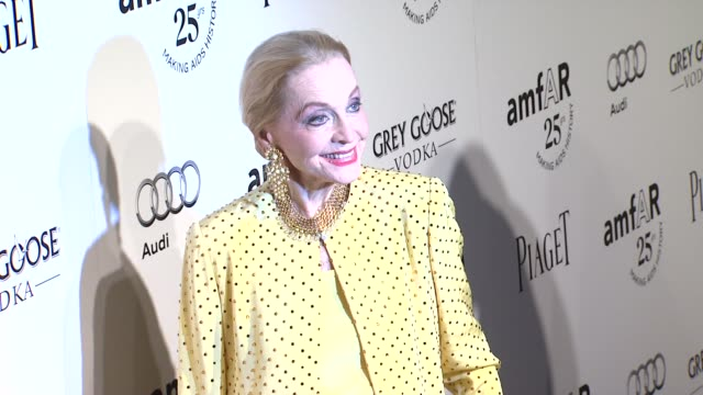 Anne Jeffreys at the amfAR's Inspiration Gala at Los Angeles CA