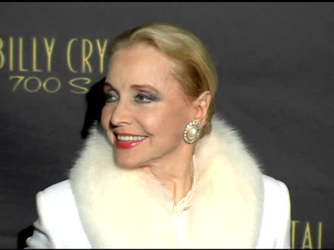 Anne Jeffreys at the Los Angeles Opening Night of the Tony Award Winning Broadway Show Billy Crystal '700 Sundays' at the Wilshire Theatre in Beverly...
