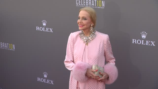 Anne Jeffreys at the Los Angeles Philharmonic's Walt Disney Concert Hall 10th Anniversary 09/30/13