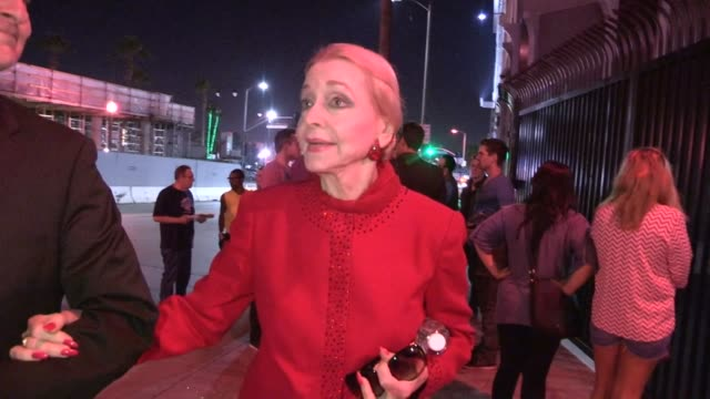 Anne Jeffreys at the Pantages Theatre in Hollywood 05/29/13