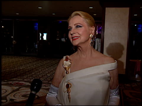 Anne Jeffreys at the Thalians Ball at the Century Plaza Hotel in Century City California on November 1 1997