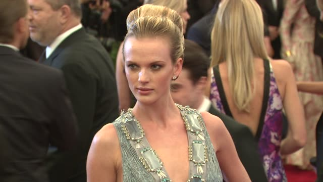 Anne Vyalitsyna at 'Schiaparelli And Prada Impossible Conversations' Costume Institute Gala 'Schiaparelli And Prada Impossible Conversations' Costume...
