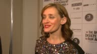 AnneMarie Duff on the previews of the film on the cast being up for awards on Nowhere Boy on Sam TaylorWoods directing of the film on the awards...
