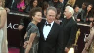 Annette Bening and Warren Beatty at the 83rd Annual Academy Awards Arrivals at Hollywood CA