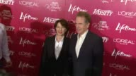 Annette Bening and Warren Beatty at the Variety's 3rd Annual 'Power of Women' Luncheon at Beverly Hills CA