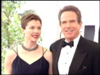 Annette Bening at the 1996 Golden Globe Awards at the Beverly Hilton in Beverly Hills California on January 21 1996