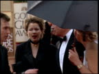 Annette Bening at the 2000 Golden Globe Awards at the Beverly Hilton in Beverly Hills California on January 23 2000