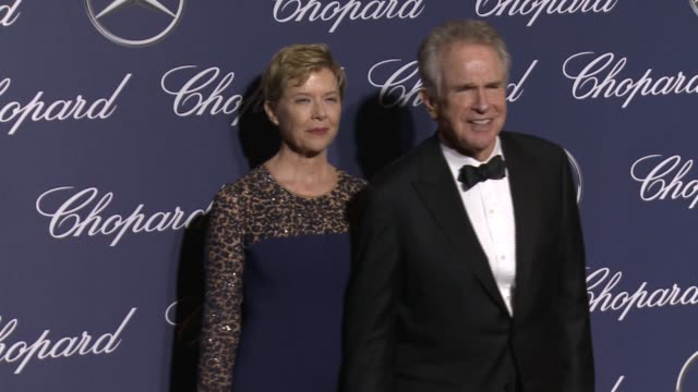 Annette Bening Warren Beatty at 28th Annual Palm Springs International Film Festival Awards Gala in Los Angeles CA